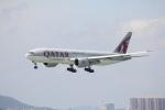 Masahiro0さんが、香港国際空港で撮影したカタール航空カーゴ 777-FDZの航空フォト(写真)