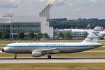 安芸あすかさんが、ミュンヘン・フランツヨーゼフシュトラウス空港で撮影したコンドル A320-212の航空フォト(写真)