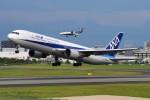 Ernie Heさんが、伊丹空港で撮影した全日空 767-381の航空フォト(写真)