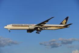 harahara555さんが、成田国際空港で撮影したシンガポール航空 777-312/ERの航空フォト(写真)