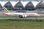 sumihan_2010さんが、スワンナプーム国際空港で撮影したエチオピア航空 787-8 Dreamlinerの航空フォト(写真)