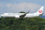 Wings Flapさんが、福岡空港で撮影した日本トランスオーシャン航空 737-8Q3の航空フォト(写真)
