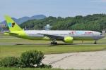 Wings Flapさんが、福岡空港で撮影したジンエアー 777-2B5/ERの航空フォト(写真)