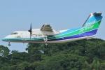 Wings Flapさんが、福岡空港で撮影したオリエンタルエアブリッジ DHC-8-201Q Dash 8の航空フォト(写真)