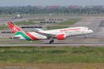 sumihan_2010さんが、スワンナプーム国際空港で撮影したケニア航空 787-8 Dreamlinerの航空フォト(写真)