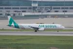かずまっくすさんが、仁川国際空港で撮影したエアソウル A321-231の航空フォト(写真)