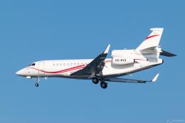 ぱん_くまさんが、羽田空港で撮影した不明 Falcon 7Xの航空フォト(写真)
