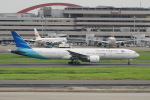 pringlesさんが、羽田空港で撮影したガルーダ・インドネシア航空 777-3U3/ERの航空フォト(写真)