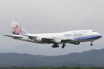 nob24kenさんが、新千歳空港で撮影したチャイナエアライン 747-409の航空フォト(写真)
