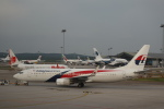 Fly Yokotayaさんが、クアラルンプール国際空港で撮影したマレーシア航空 737-8H6の航空フォト(写真)