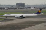 pringlesさんが、羽田空港で撮影したルフトハンザドイツ航空 A340-642Xの航空フォト(写真)