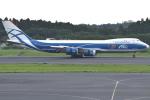 euro_r302さんが、成田国際空港で撮影したエアブリッジ・カーゴ・エアラインズ 747-8HVFの航空フォト(写真)