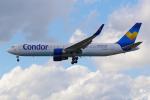 PASSENGERさんが、フランクフルト国際空港で撮影したコンドル 767-330/ERの航空フォト(写真)