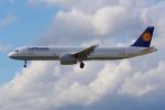 PASSENGERさんが、フランクフルト国際空港で撮影したルフトハンザドイツ航空 A321-131の航空フォト(写真)