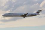 PASSENGERさんが、フランクフルト国際空港で撮影したブルガリアン・エア・チャーター MD-82 (DC-9-82)の航空フォト(写真)