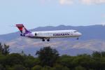 かみじょー。さんが、ダニエル・K・イノウエ国際空港で撮影したハワイアン航空 717-2BLの航空フォト(写真)