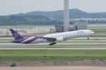 かずまっくすさんが、仁川国際空港で撮影したタイ国際航空 777-3D7の航空フォト(写真)