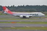 amagoさんが、成田国際空港で撮影したカーゴルクス・イタリア 747-4R7F/SCDの航空フォト(写真)