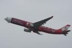 神宮寺ももさんが、関西国際空港で撮影したエアアジア・エックス A330-343Xの航空フォト(写真)
