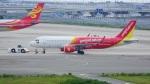 てつさんが、関西国際空港で撮影したベトジェットエア A320-214の航空フォト(写真)