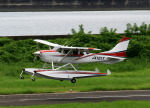 しょうせいさんが、岡南飛行場で撮影した岡山航空 T206H Turbo Stationairの航空フォト(写真)
