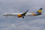PASSENGERさんが、フランクフルト国際空港で撮影したコンドル 757-330の航空フォト(写真)