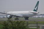 airdrugさんが、成田国際空港で撮影したキャセイパシフィック航空 777-367の航空フォト(写真)