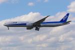 PASSENGERさんが、フランクフルト国際空港で撮影した全日空 777-381/ERの航空フォト(写真)
