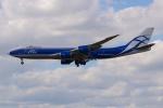 PASSENGERさんが、フランクフルト国際空港で撮影したエアブリッジ・カーゴ・エアラインズ 747-83QFの航空フォト(写真)