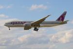 PASSENGERさんが、フランクフルト国際空港で撮影したカタール航空カーゴ 777-FDZの航空フォト(写真)