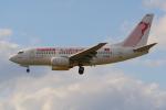 PASSENGERさんが、フランクフルト国際空港で撮影したチュニスエア 737-6H3の航空フォト(写真)