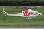 西風さんが、大館能代空港で撮影した朝日航洋 412EPの航空フォト(写真)