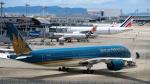 ねぎぬきさんが、関西国際空港で撮影したベトナム航空 A350-941XWBの航空フォト(写真)