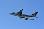 nobu2000さんが、シドニー国際空港で撮影したシンガポール航空カーゴ 747-412F/SCDの航空フォト(写真)