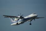 ふるぴーさんが、松山空港で撮影したANAウイングス DHC-8-402Q Dash 8の航空フォト(写真)