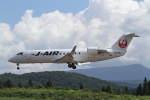 プルシアンブルーさんが、青森空港で撮影したジェイ・エア CL-600-2B19 Regional Jet CRJ-200ERの航空フォト(写真)