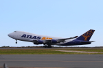 かみじょー。さんが、ダニエル・K・イノウエ国際空港で撮影したアトラス航空 747-47UF/SCDの航空フォト(写真)