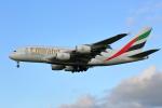 prado120さんが、成田国際空港で撮影したエミレーツ航空 A380-861の航空フォト(写真)
