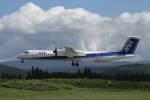 プルシアンブルーさんが、青森空港で撮影したANAウイングス DHC-8-402Q Dash 8の航空フォト(写真)