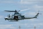 よっしぃさんが、八尾空港で撮影したアメリカ海兵隊 UH-1Yの航空フォト(写真)