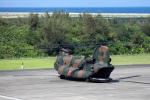 CL&CLさんが、奄美空港で撮影した陸上自衛隊 CH-47JAの航空フォト(写真)