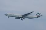 mougandouさんが、成田国際空港で撮影したキャセイパシフィック航空 A330-343Xの航空フォト(写真)