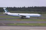 けいとパパさんが、成田国際空港で撮影したキャセイパシフィック航空 A330-343Xの航空フォト(写真)