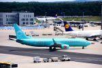 まいけるさんが、フランクフルト国際空港で撮影したサンエクスプレス・ジャーマニー 737-8HXの航空フォト(写真)