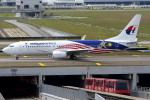 KAW-YGさんが、クアラルンプール国際空港で撮影したマレーシア航空 737-8H6の航空フォト(写真)