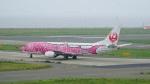 てつさんが、関西国際空港で撮影した日本トランスオーシャン航空 737-446の航空フォト(写真)