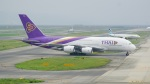 てつさんが、関西国際空港で撮影したタイ国際航空 A380-841の航空フォト(写真)