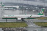 神宮寺ももさんが、関西国際空港で撮影したエバー航空 A321-211の航空フォト(写真)