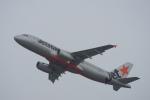 神宮寺ももさんが、関西国際空港で撮影したジェットスター・アジア A320-232の航空フォト(写真)