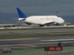 りゅうさんさんが、サンフランシスコ国際空港で撮影したボーイング 747-4J6(LCF) Dreamlifterの航空フォト(写真)